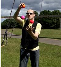 3 Ball Yo-yo Trick