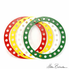 4 x Babache Wind Rings (available at Jugglingworld Store)