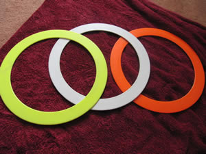 Colour Change Juggling Rings