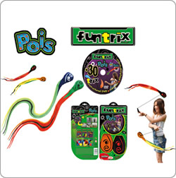 Funtrix Poi available from Jugglingworld (UK only)