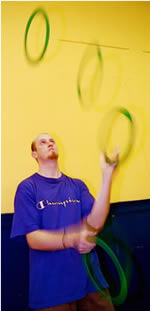 Steve ring juggling