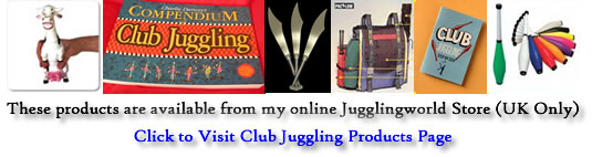 Club Juggling Products available from Jugglingworld